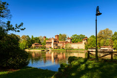 Medieval village Royalty Free Stock Images