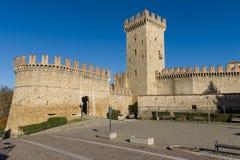 Medieval village of Vigoleno Royalty Free Stock Photo