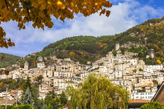 Medieval villages of Italy Royalty Free Stock Images