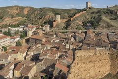 Medieval villages of Spain, Daroca in the province of Zaragoza Royalty Free Stock Photo