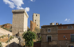 Medieval villages of Spain, Daroca in the province of Zaragoza Royalty Free Stock Photos