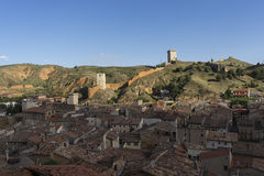 Medieval villages of Spain, Daroca in the province of Zaragoza Stock Photos