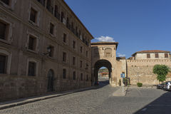 Medieval villages of Spain, Daroca in the province of Zaragoza Royalty Free Stock Photography