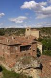 Medieval villlage of Calatañazor, Soria province, Casitlla y Le Stock Photos
