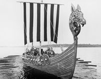 MEDIEVAL VOYAGE Royalty Free Stock Images
