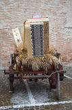 Medieval wagons Royalty Free Stock Images
