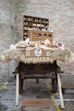 Medieval wagons Stock Images