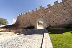 Medieval wall Royalty Free Stock Images