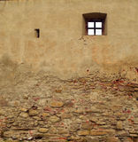 Medieval wall background Stock Photo