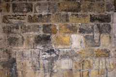 Medieval Wall Background Royalty Free Stock Image