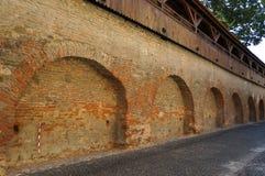 Medieval wall Royalty Free Stock Photos