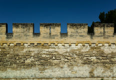 Medieval wall Royalty Free Stock Photo