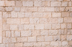 Medieval wall texture Royalty Free Stock Images