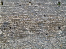 Medieval stone wall texture Royalty Free Stock Image