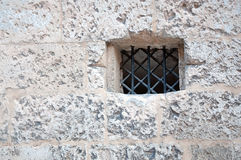 Medieval wall window Stock Photo
