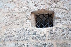 Medieval wall window Stock Photo