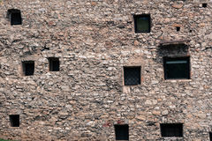 Medieval wall. Stock Photography