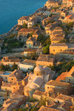 Medieval walled town of Monemvasia, Greece Stock Image