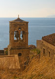 Medieval walled town of Monemvasia, Greece Stock Photo