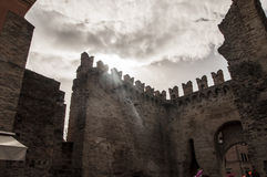 Medieval walls Royalty Free Stock Photos