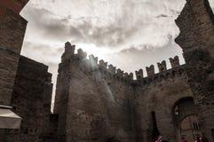 Medieval walls Royalty Free Stock Photos