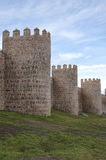 Medieval walls, Avila, Spain Royalty Free Stock Images