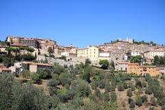Medieval walls of Campiglia Marittima, Italy Stock Photography