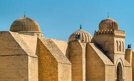 Medieval walls of Medina in Kairouan, Tunisia Stock Image
