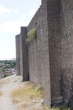 Medieval walls and towers Royalty Free Stock Images