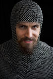 Medieval warrior Royalty Free Stock Photo