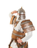 Medieval warrior Royalty Free Stock Image
