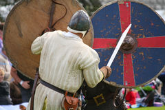 Medieval Warriors Royalty Free Stock Images
