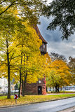 Medieval watchtower Dohrener Turm in Hannover, Germany Stock Photos