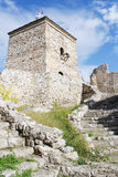 Medieval Watchtower and Stairs Royalty Free Stock Images