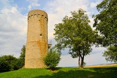 Medieval watchtower Sulesturm, Bavaria, Germany Royalty Free Stock Image