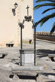 Medieval water well Stock Image