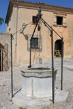 Medieval water well Royalty Free Stock Images