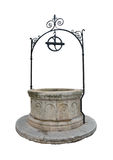 Medieval water well Royalty Free Stock Photo
