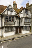 Medieval wattle houses at Hastings Royalty Free Stock Image