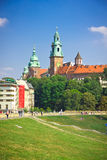 Medieval Wawel Castle, Cracow, Poland Stock Photo