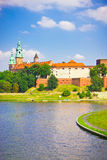 Medieval Wawel Castle, Cracow, Poland Royalty Free Stock Photo