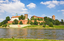 Medieval Wawel Castle, Cracow, Poland Stock Image