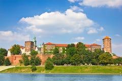 Medieval Wawel Castle, Cracow, Poland Stock Photos