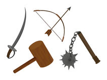 Medieval Weapons Stock Photography