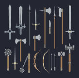 Medieval weapons Royalty Free Stock Image