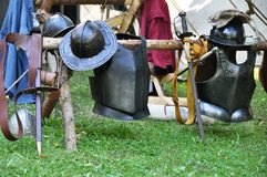 Medieval weapons Royalty Free Stock Images