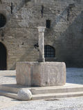 Medieval Well Rhodes Greece Royalty Free Stock Photo