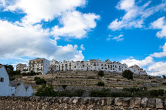 Medieval white village of Locorotondo Royalty Free Stock Image