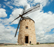 Medieval Windmill. Stock Photography