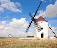 Medieval Windmills Stock Photography